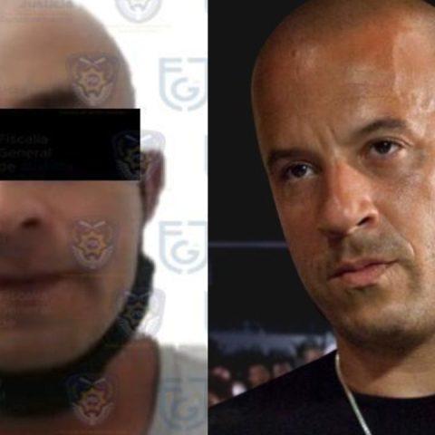 """""""Vin Diesel"""" es detenido Xochimilco por presunto robo"""