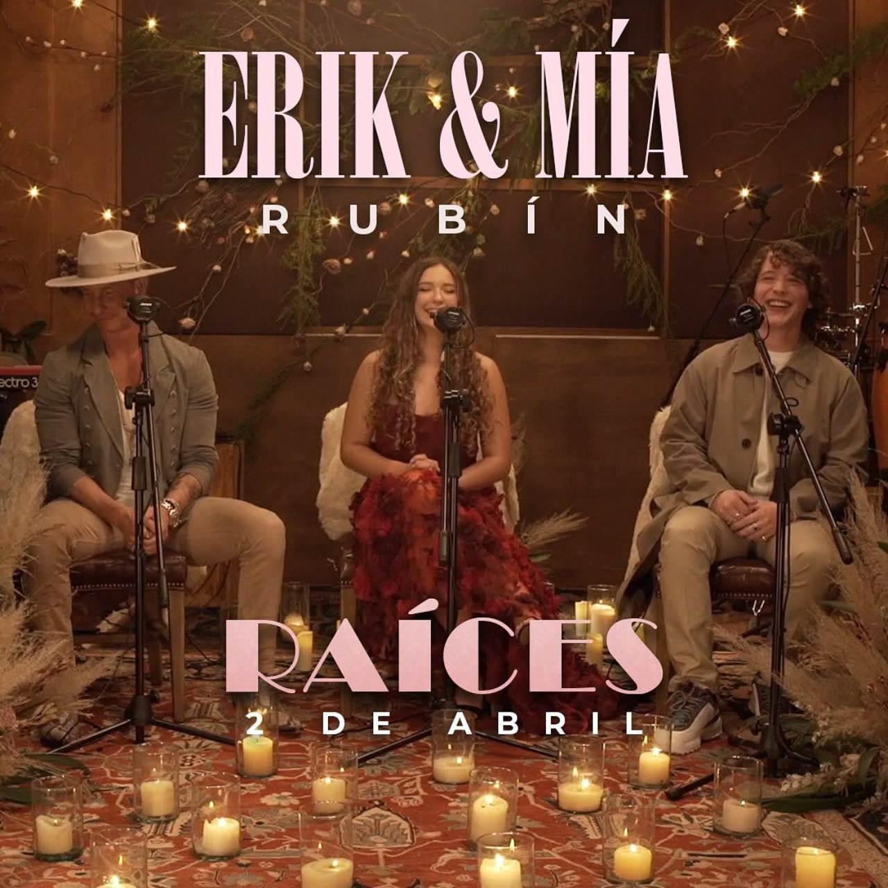 Erik Rubin Mia Rubin concierto Raices