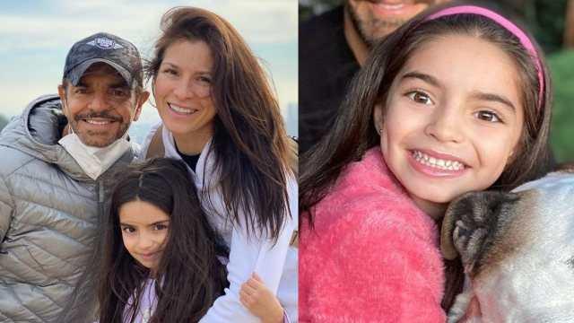 Aitana Derbez con Eugenio y Alessandra
