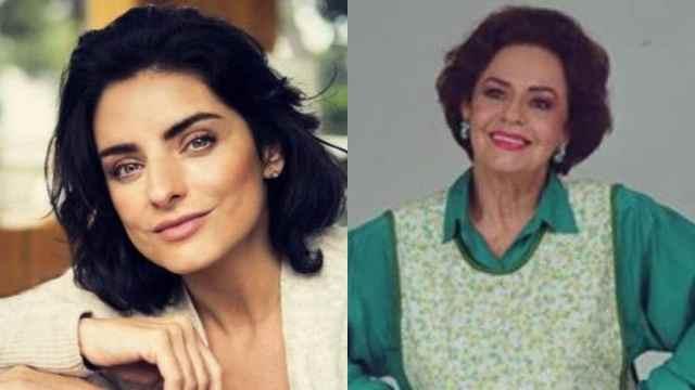 Aislinn Derbez es un clon de su abuela Silvia Derbez
