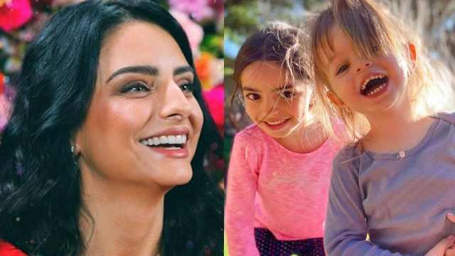 Aislinn Derbez conmovida por la amistad de su hija y hermana
