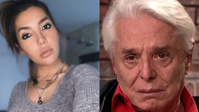 """Frida Sofía reacciona furiosa a las lágrimas de Enrique Guzmán y lo llama """"degenerado"""""""