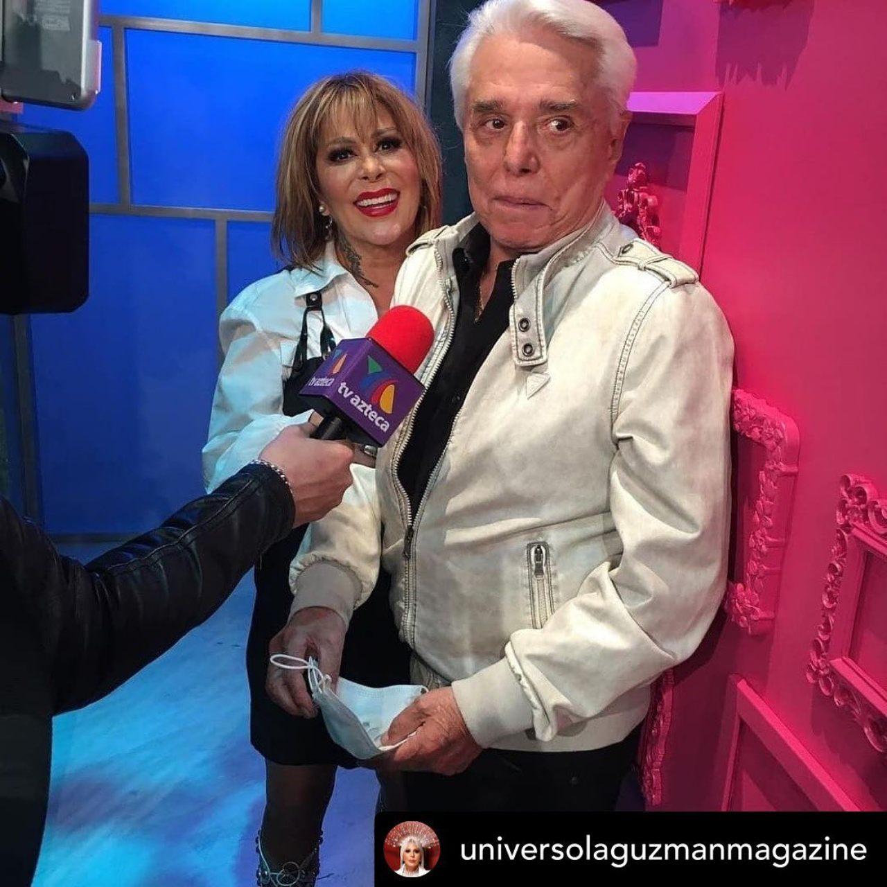 Enrique Guzman y alejandra guzman juntos