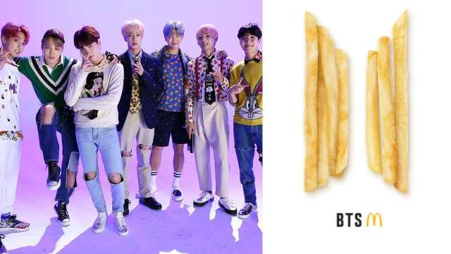 Jungkook BTS tendran menu Mc Donalds