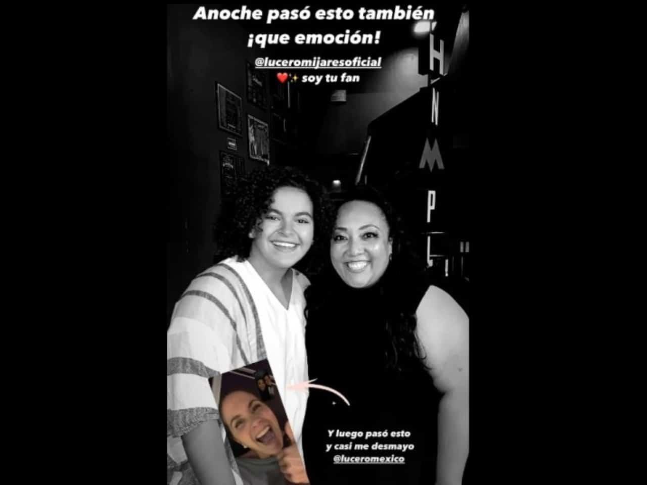 Lucerito se declara fan de Michelle