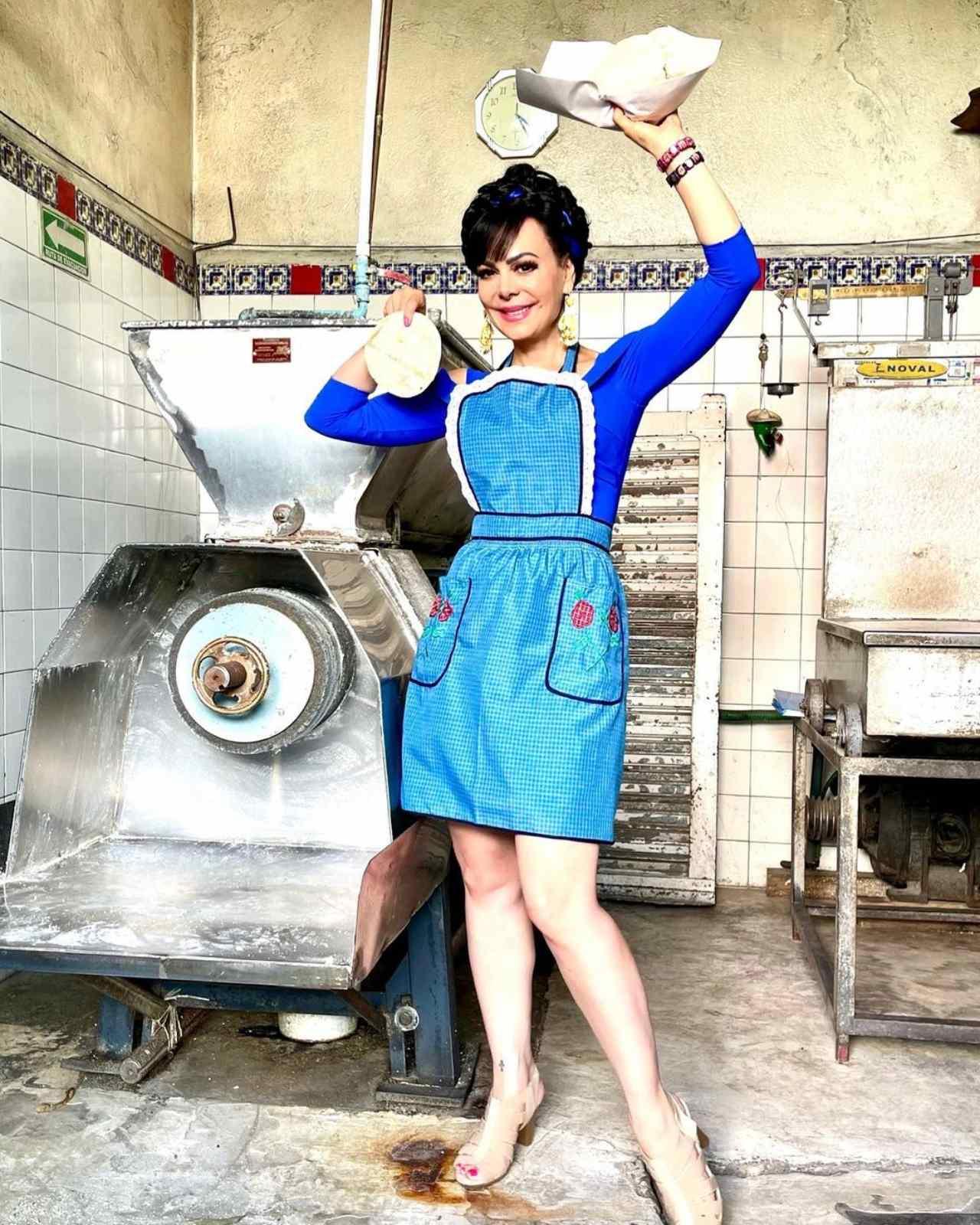 Maribel Guardia se vuelve tortillera