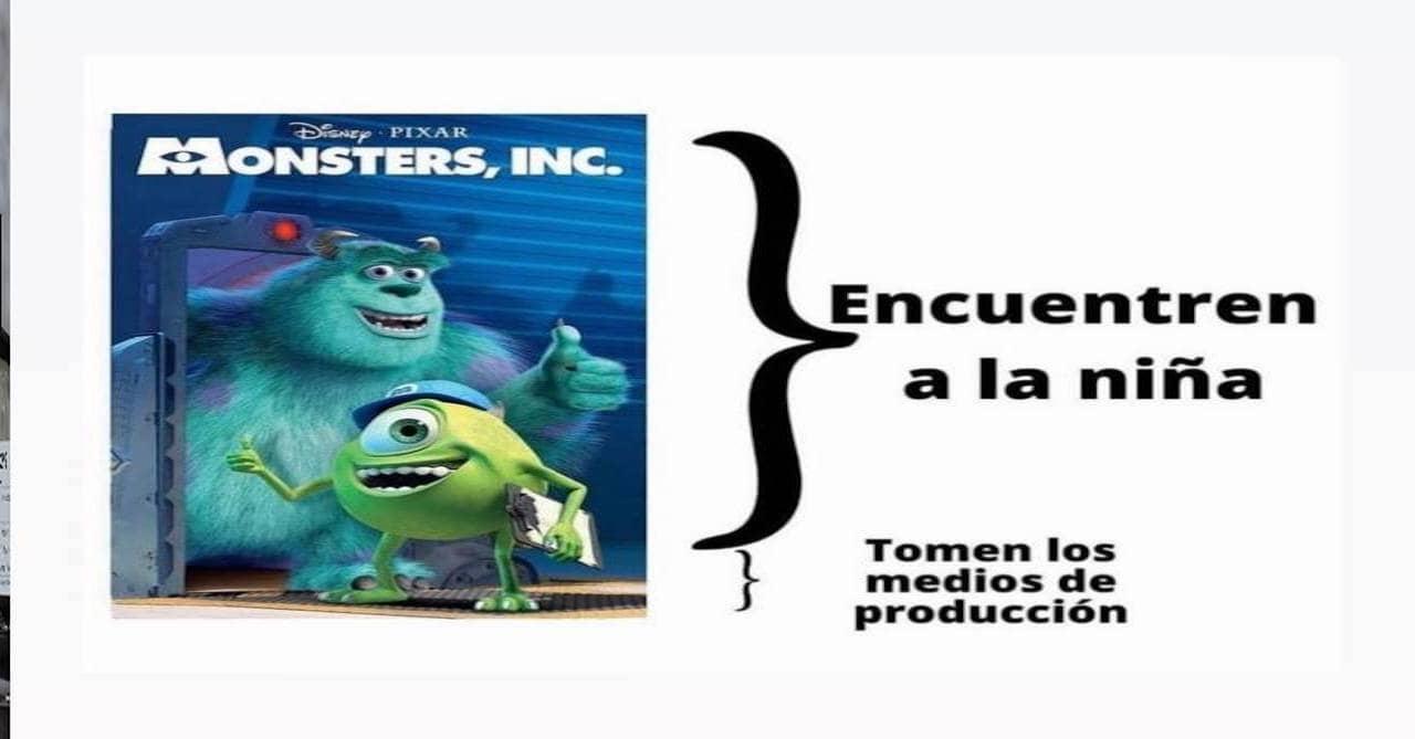 Memes de corchetes o la rayita con Monsters Inc