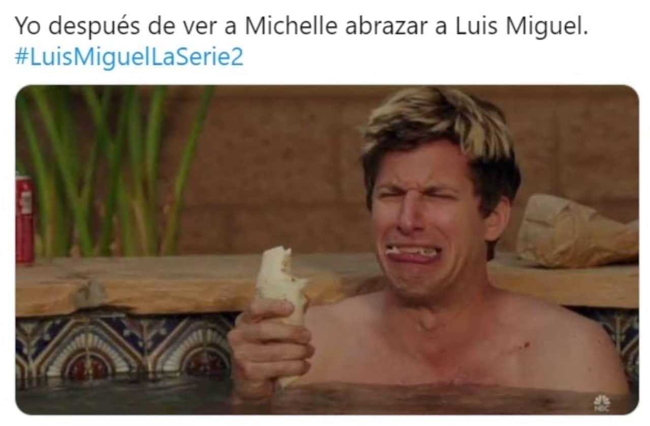 Meme llorando Luis Miguel Michelle