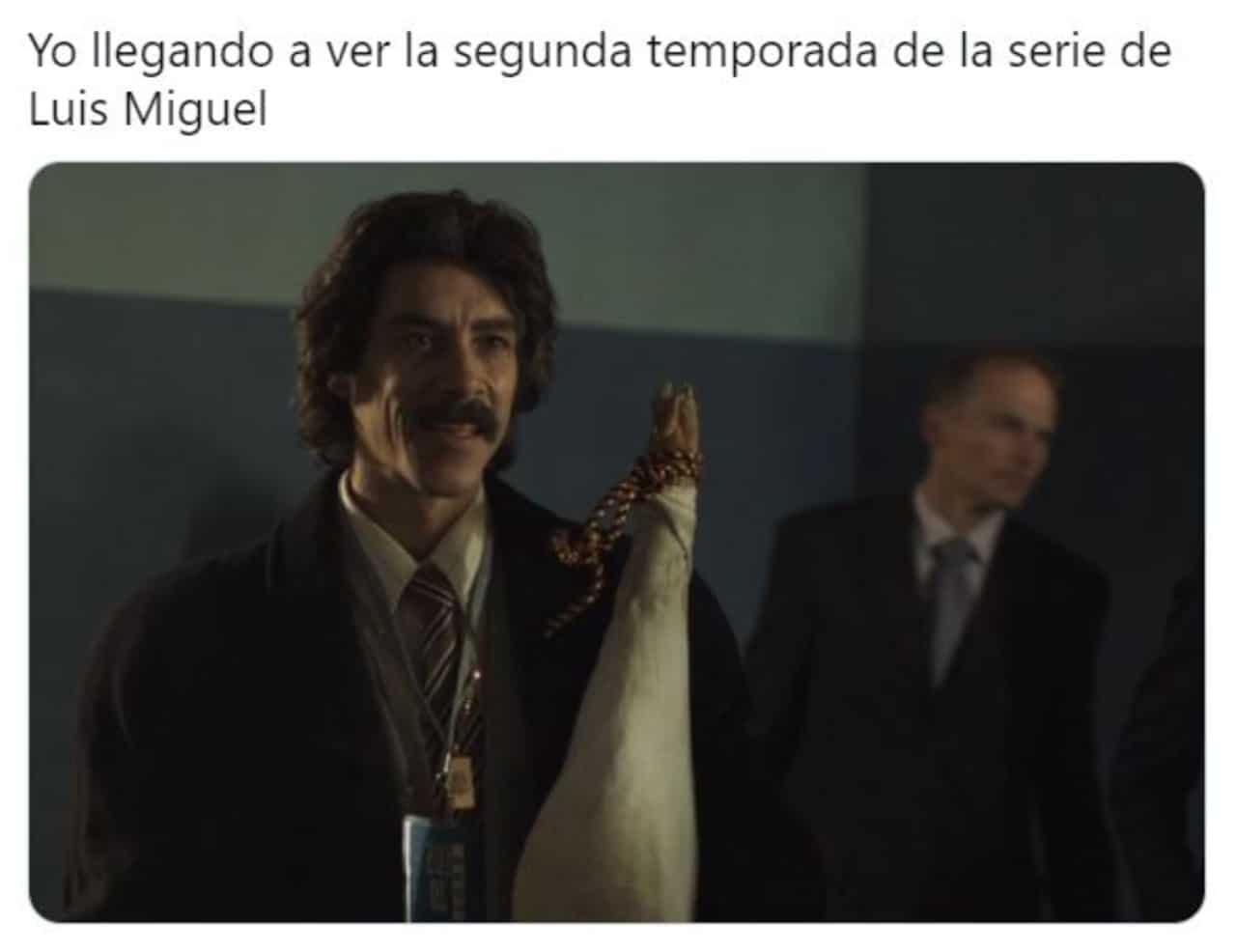 Luis Miguel la serie memes temporada 2 Netflix