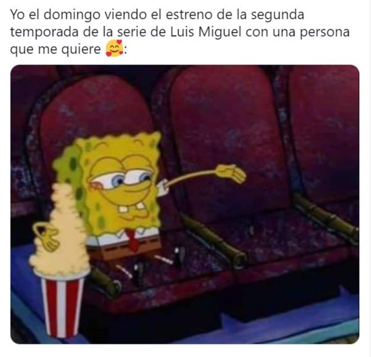 memes de la serie de Luis Miguel