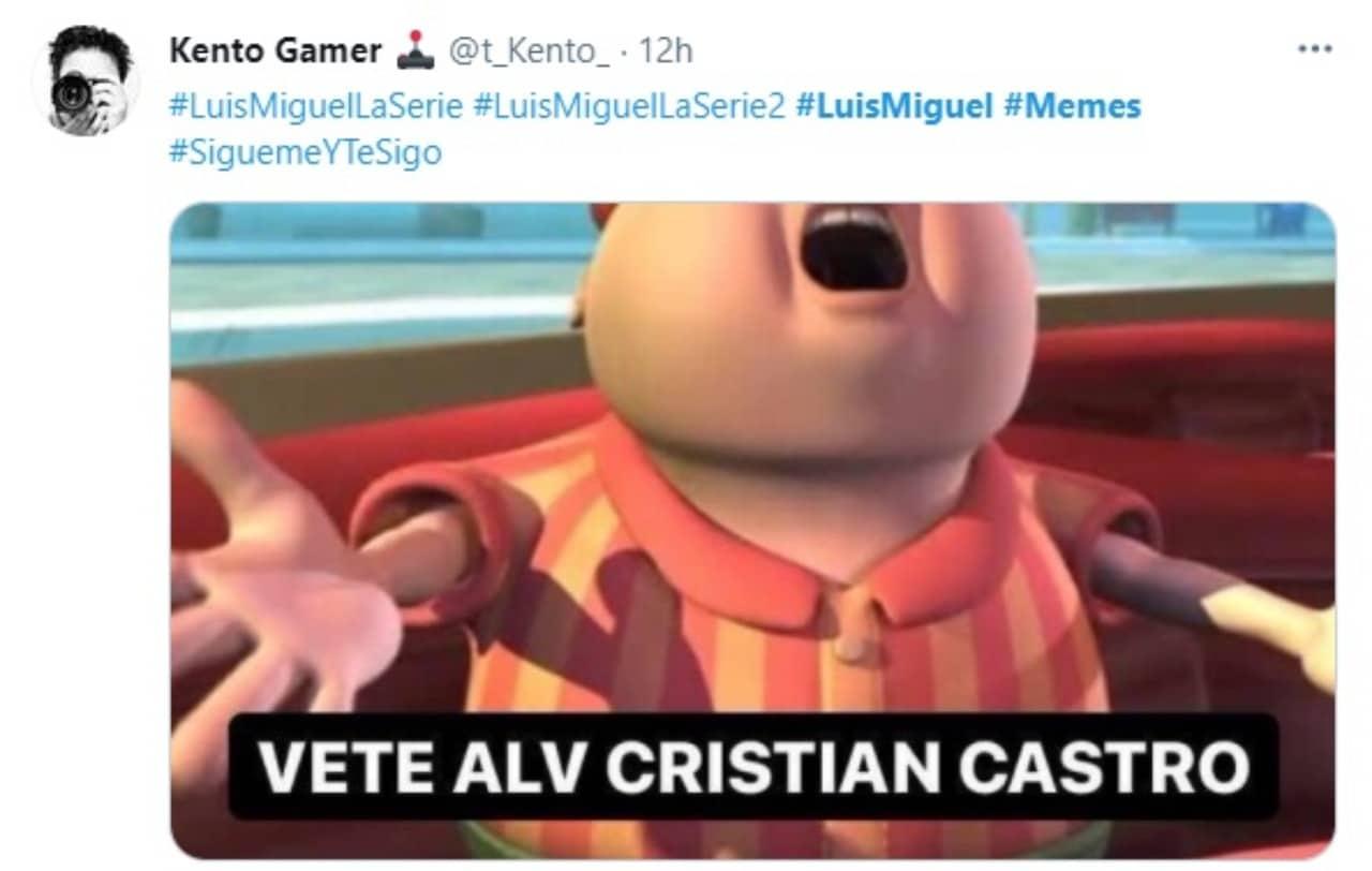 Meme contra cristian castro