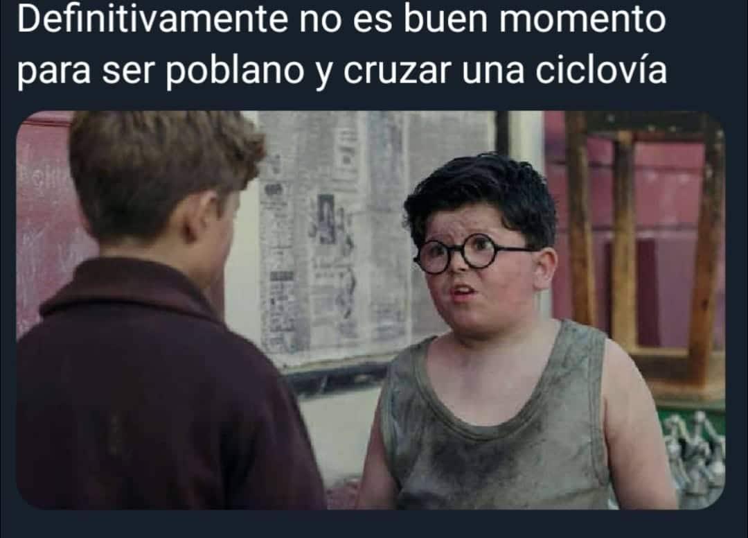 poblanos ciclovía caídas memes puebla