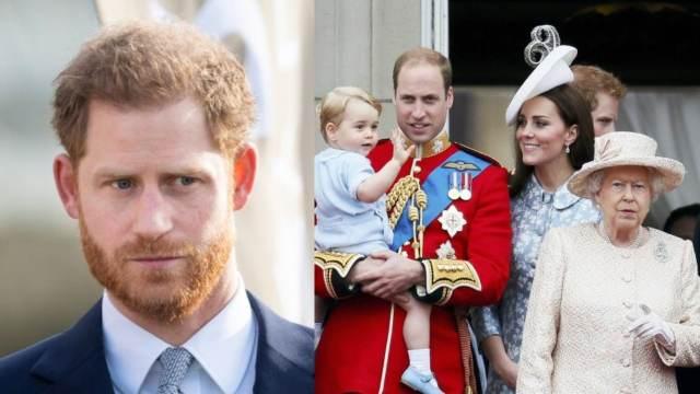 Principe Harry familia real juntos