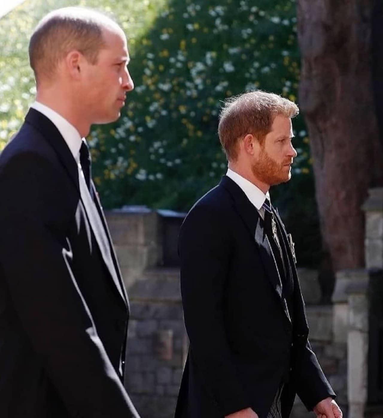 Principe Harry William funeral abuelo felipe