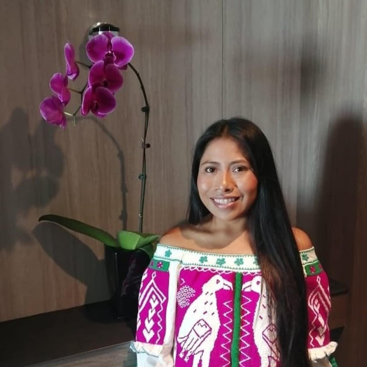 Yalitza Aparicio, nueva promotora