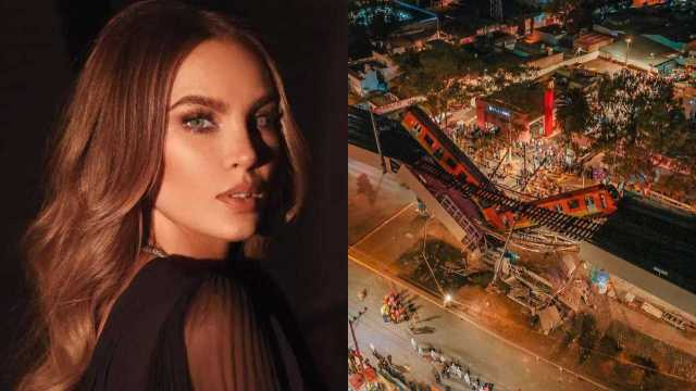 Belinda reacciona al desplome del Metro y se solidariza con las víctimas