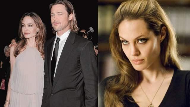 Brad Pitt custodia Angelina Jolie enojada