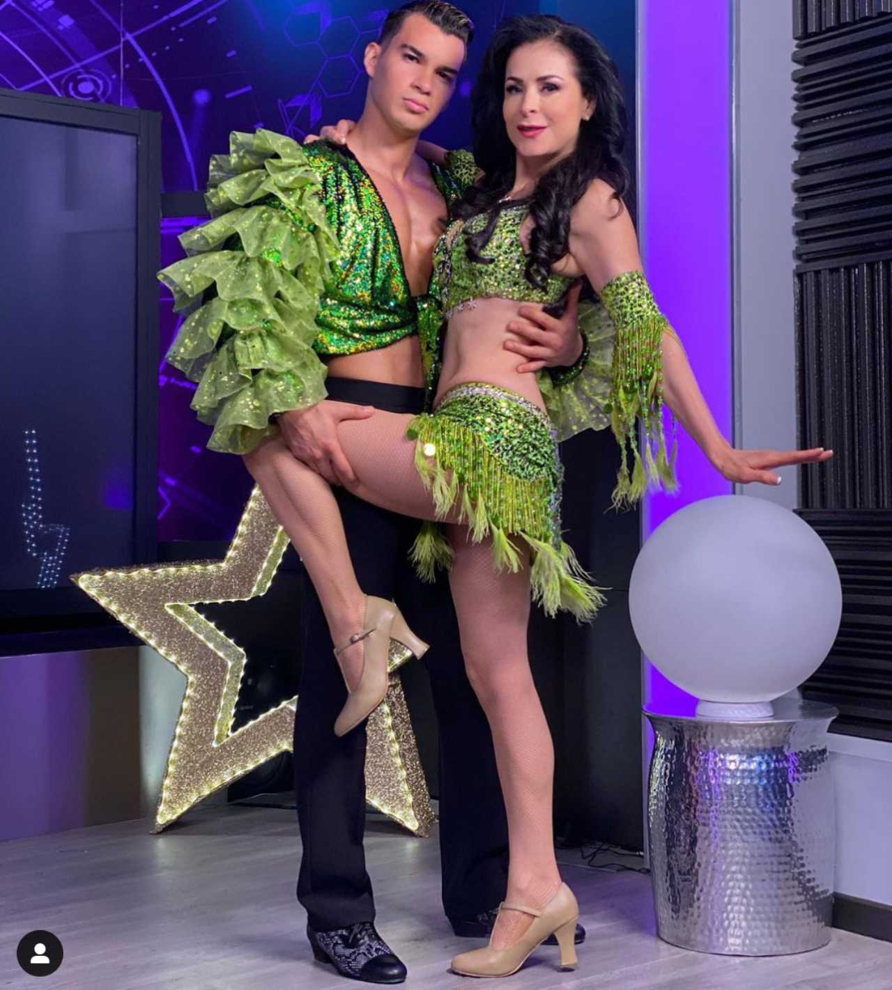Brandon Castañeda y Lourdes Munguía