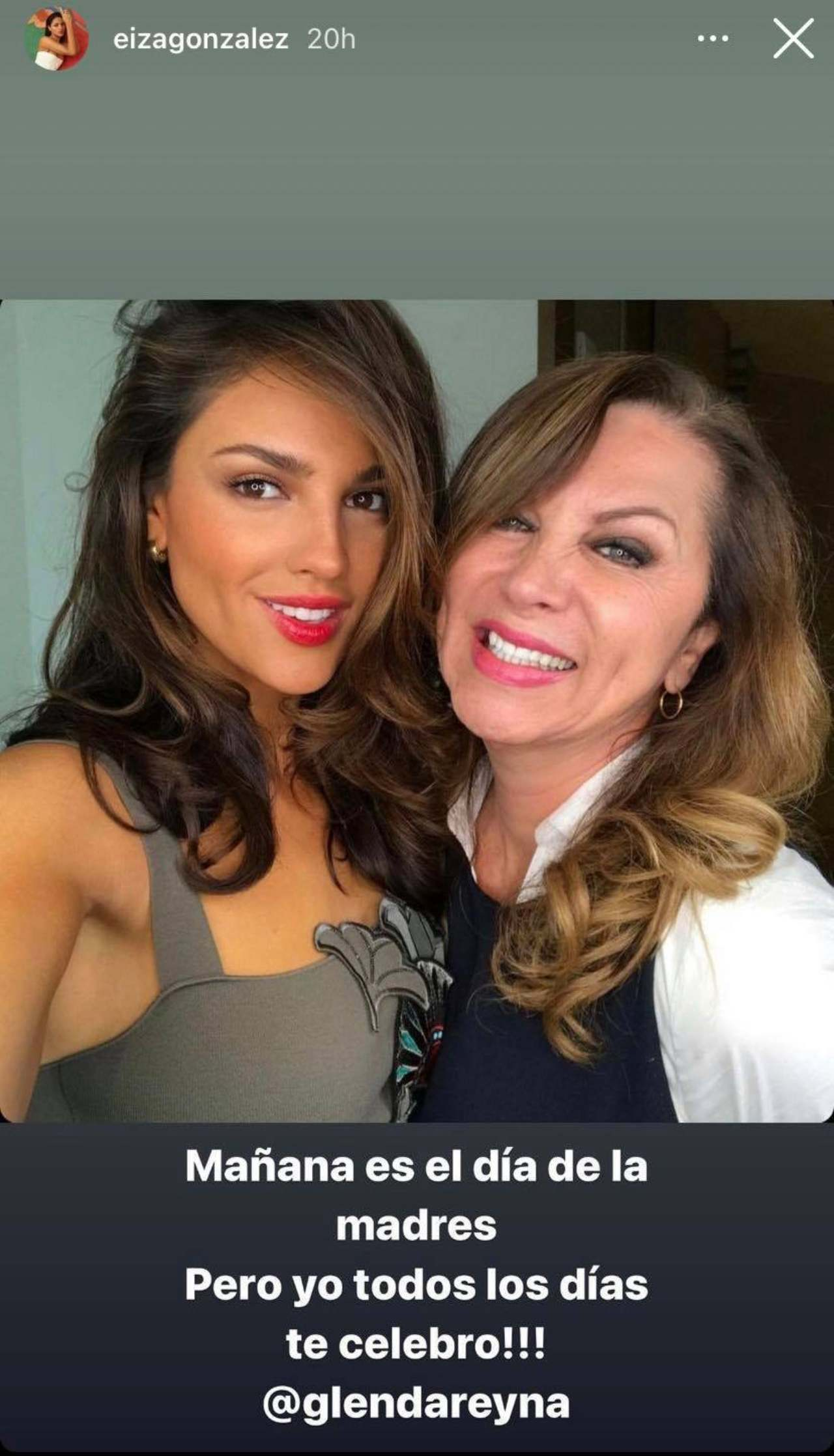 Eiza Gonzalez y su mama Glenda