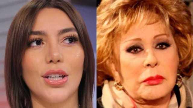 Frida Sofía le exige a su familia dejar a Silvia Pinal fuera del escándalo