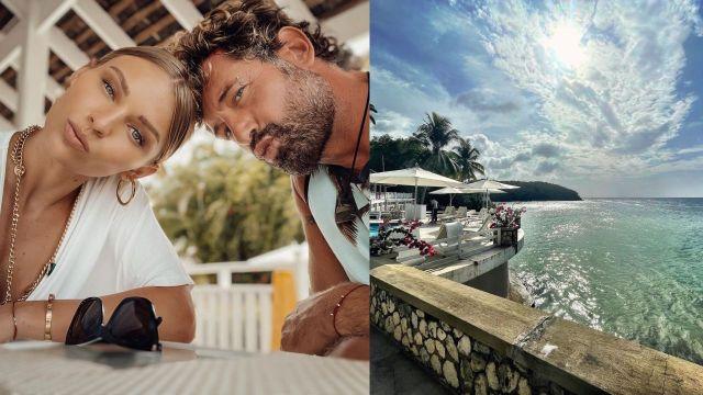 Gabriel Irina vacaciones en Jamaica