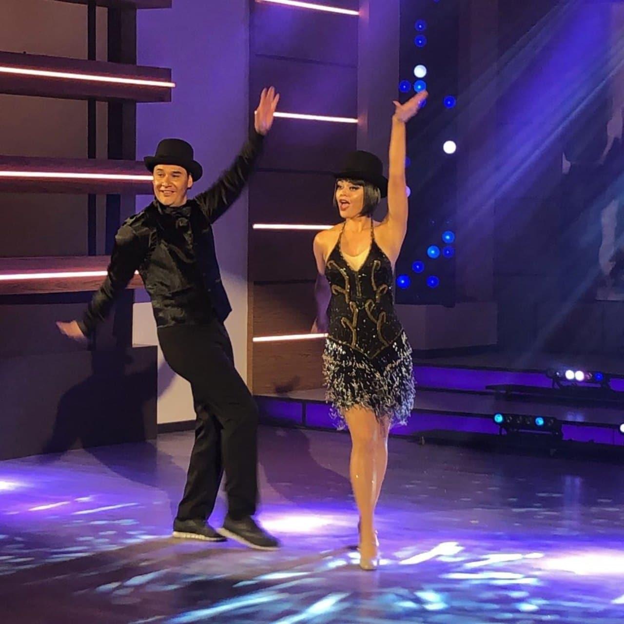 Marisol y Moi las estrellas bailan en hoy