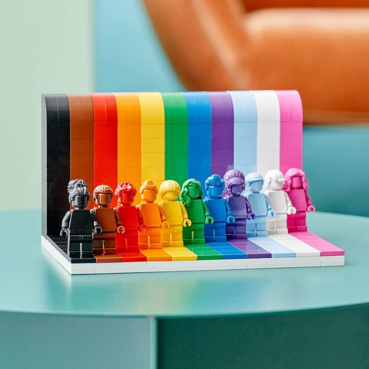 Un set muy LGBTQ+