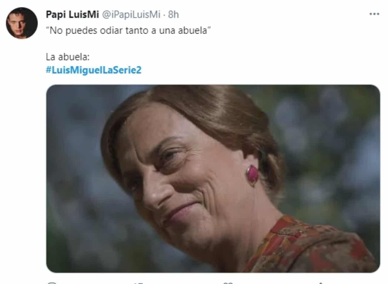 Meme abuela Luis Miguel La Serie