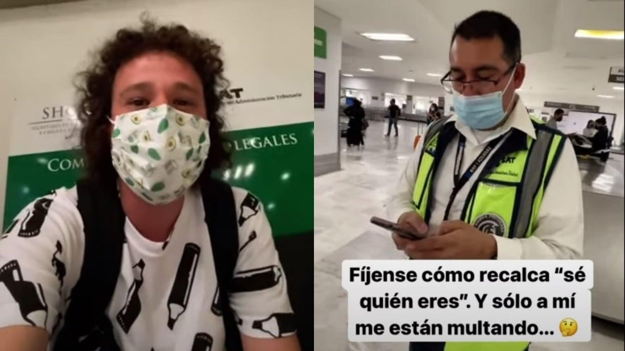 Ponen multa a Luisito Comunica aeropuerto