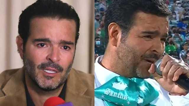 Pablo Montero se disculpa tras equivocarse al interpretar el Himno Nacional