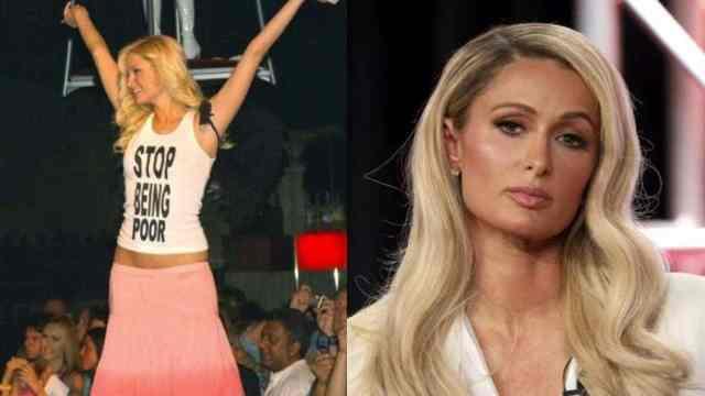 Paris Hilton confiesa la verdad de su polémica blusa