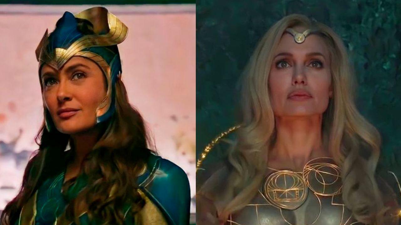 Salma Hayek y Angelina Jolie conquistan con el tráiler de 'Eternals'
