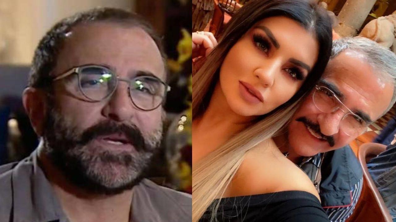 Vicente Fernández Jr reaparece en una sospechosa foto de su novia