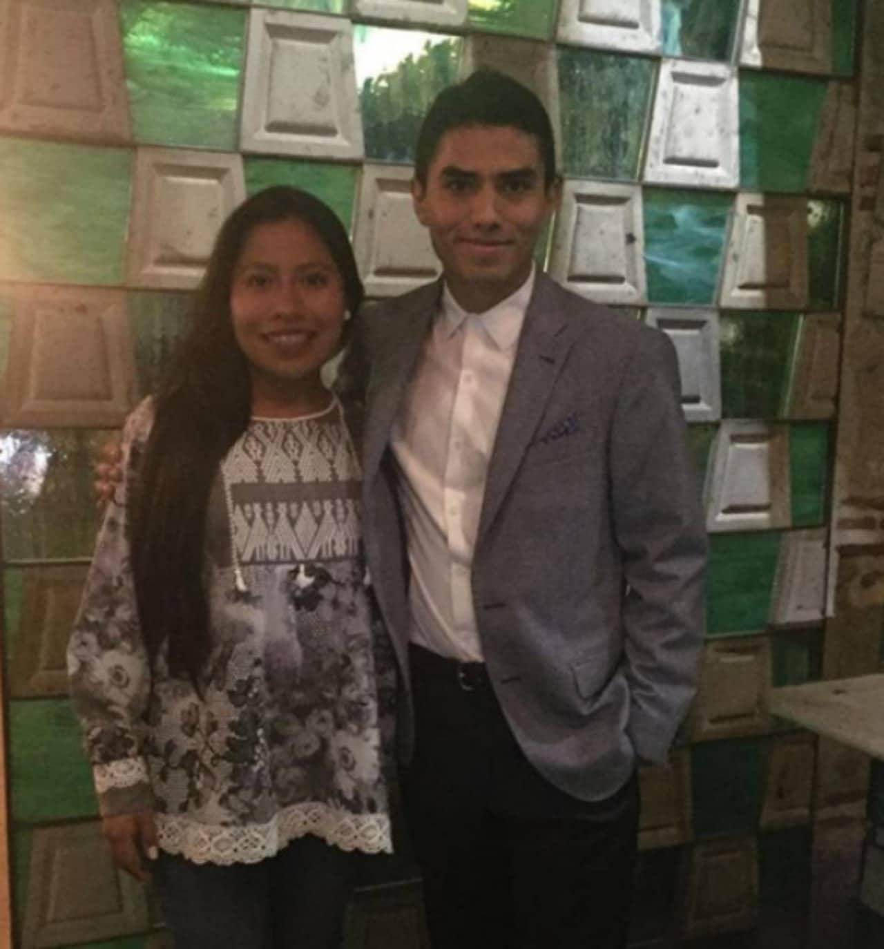 Yalitza Aparicio y Jorge Antonio Guerrero