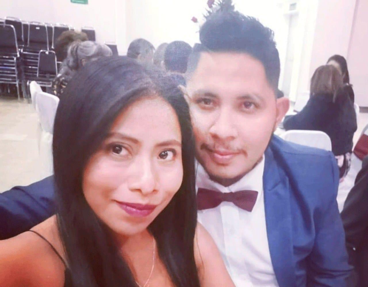Yalitza Aparicio y su novio Andre