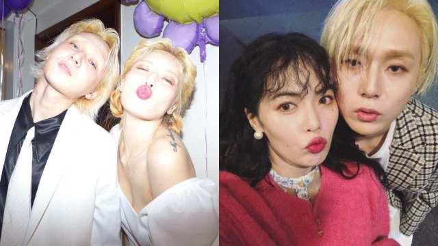 Hyuna y Dawn se casaron sin avisar
