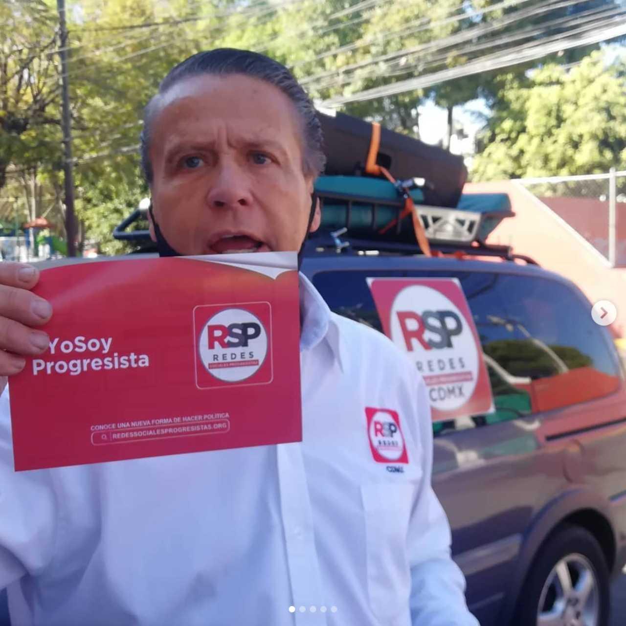 Alfredo Adame reaparece tras derrota electoral