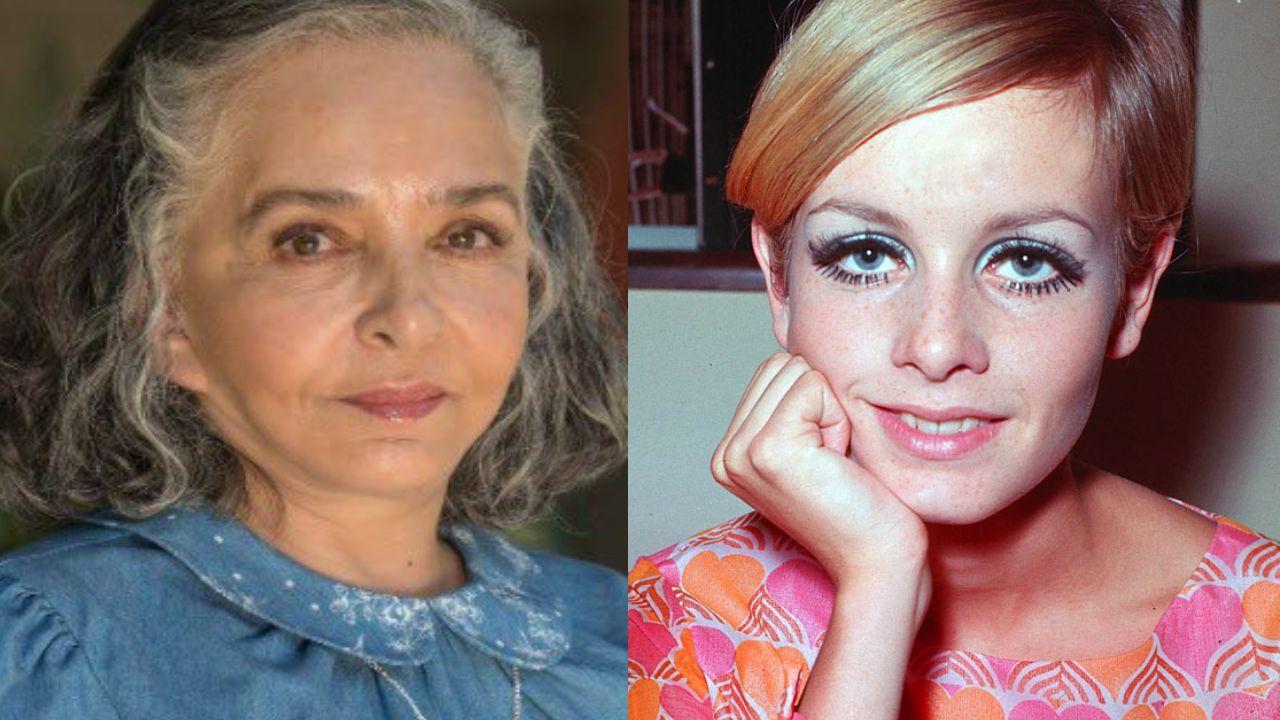 Ana Martín es idéntica a Twiggy de joven y esta foto lo demuestra
