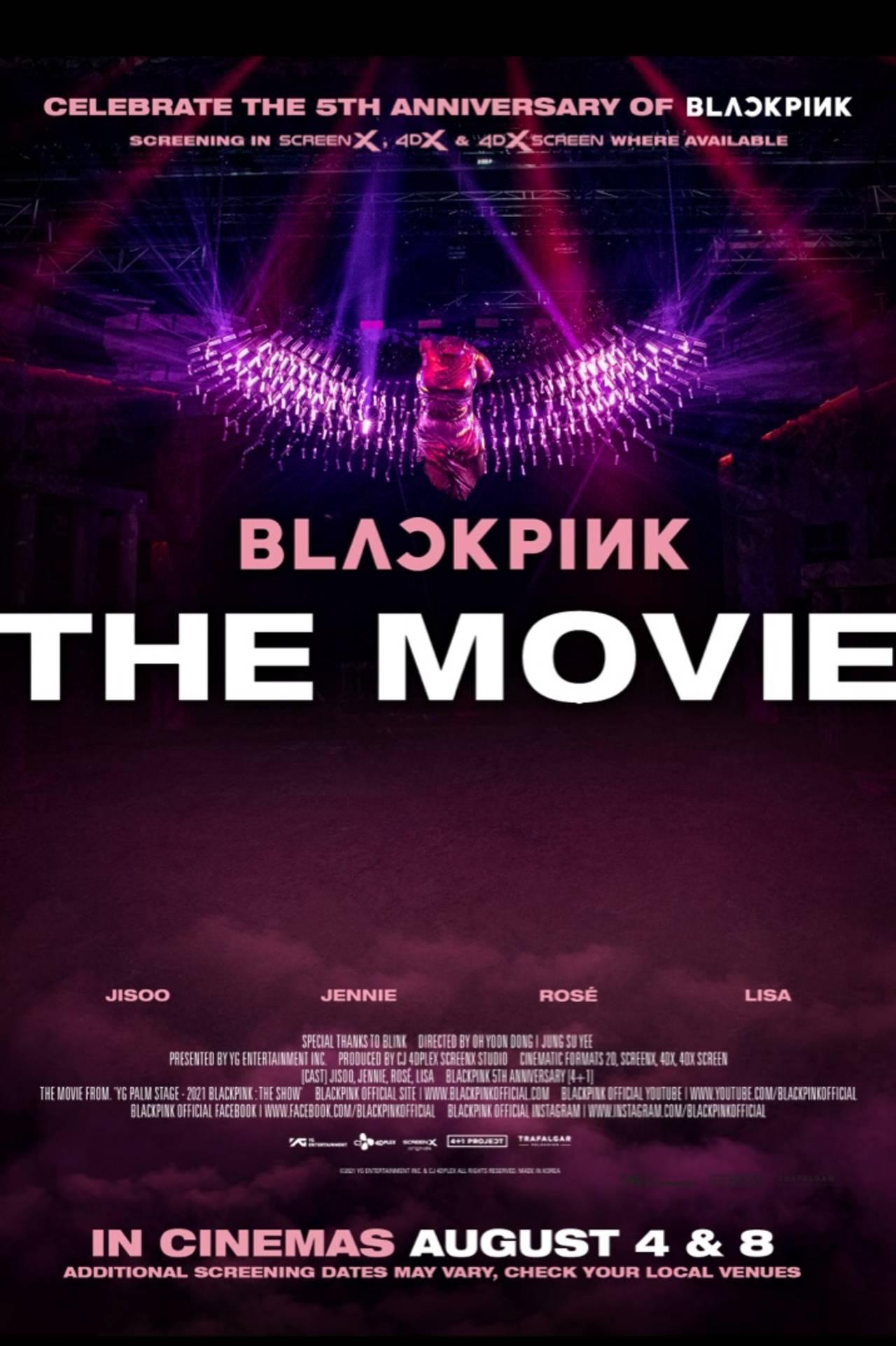 BLACKPINK The Movie lanza la preventa de sus boletos en el cine