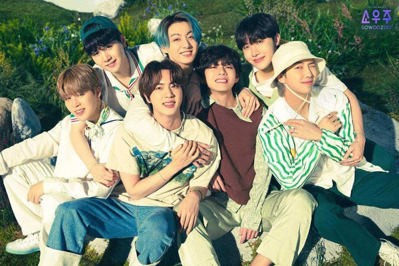 Los chicos de BTS con proyectos de actuación