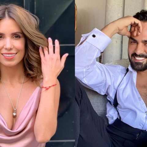 Andrea Escalona y Ariel Miramontes tienen romance
