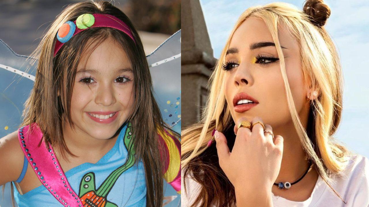 Así luce Danna Paola antes y después de la fama