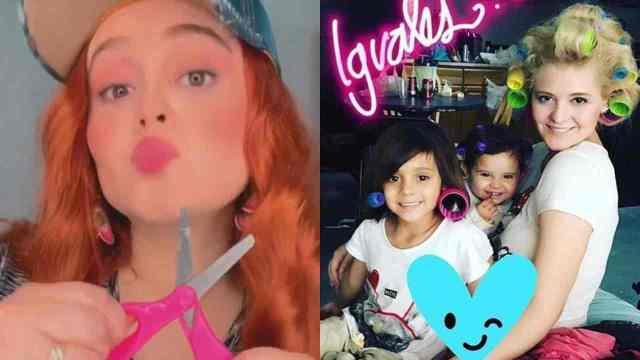 Allisson Lozz transforma a sus hijas y las deja preciosas