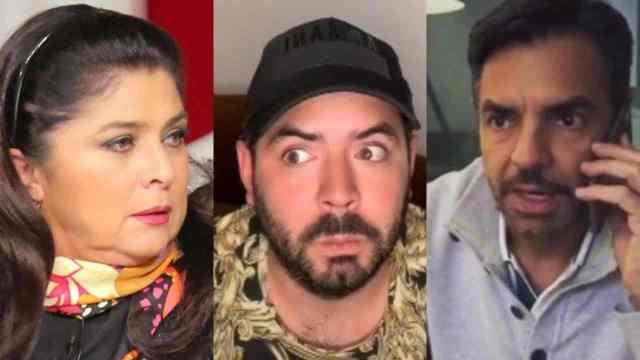 Victoria Ruffo defendió a Eugenio Derbez en una pelea con José Eduardo