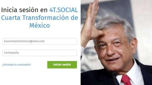 Crean red social de la 'Cuarta Transformación'
