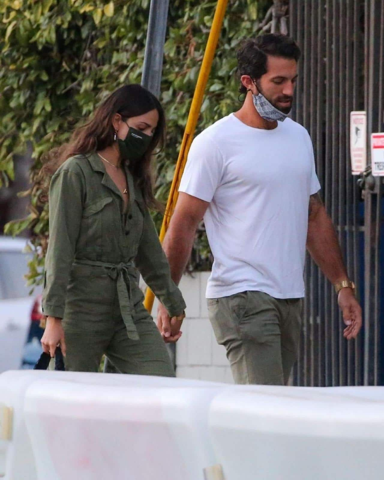 Eiza Gonzalez y novio Paul Rabil
