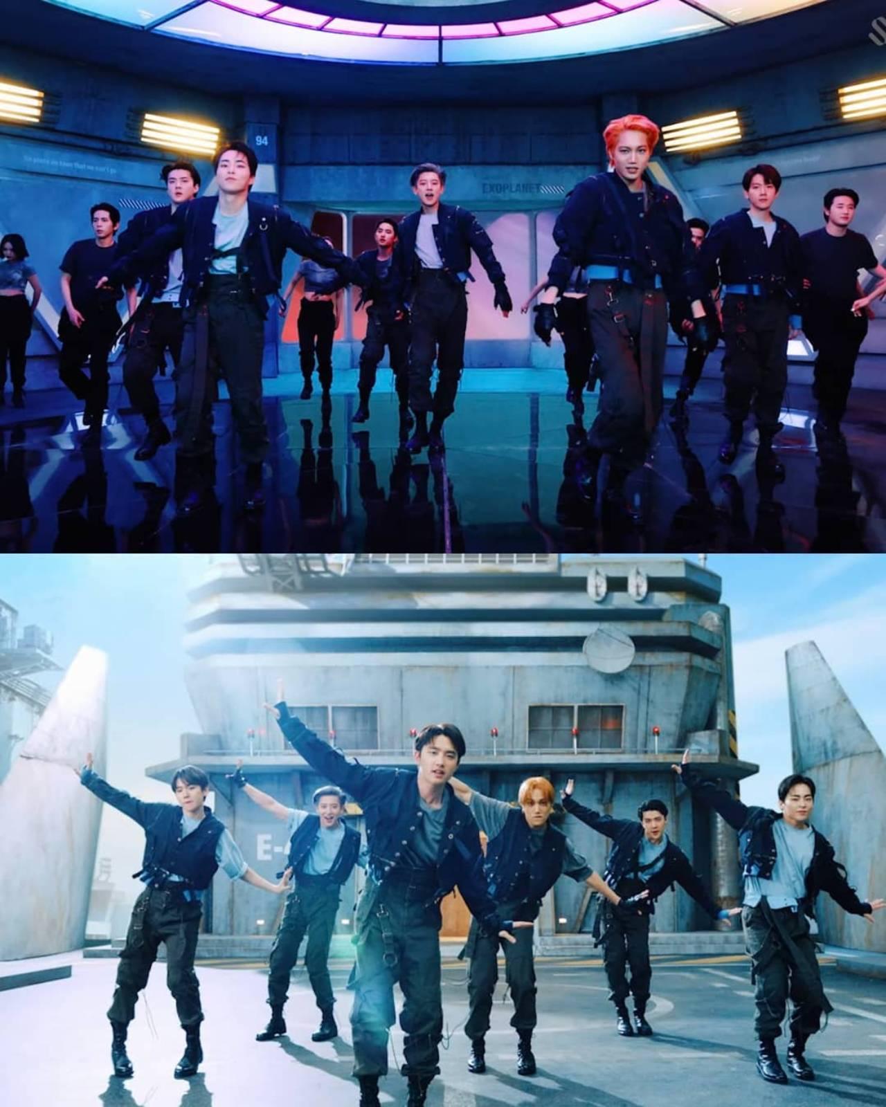 EXo rompe record album nuevo