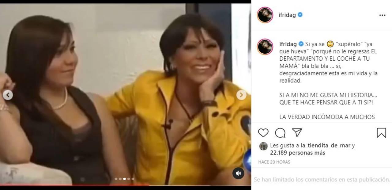 Frida Sofía asegura que Alejandra Guzmán la envidia y cree que tiene 15 años