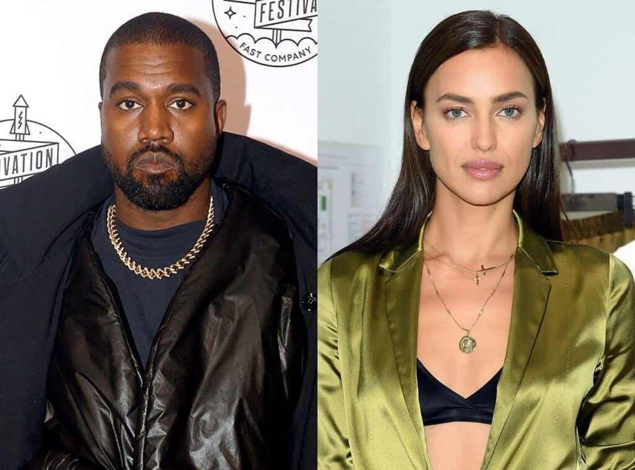 Kanye West Irina Shayk estrenan romance fotos