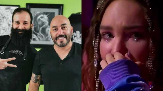 Lupillo Rivera se quita tatuaje de la cantante